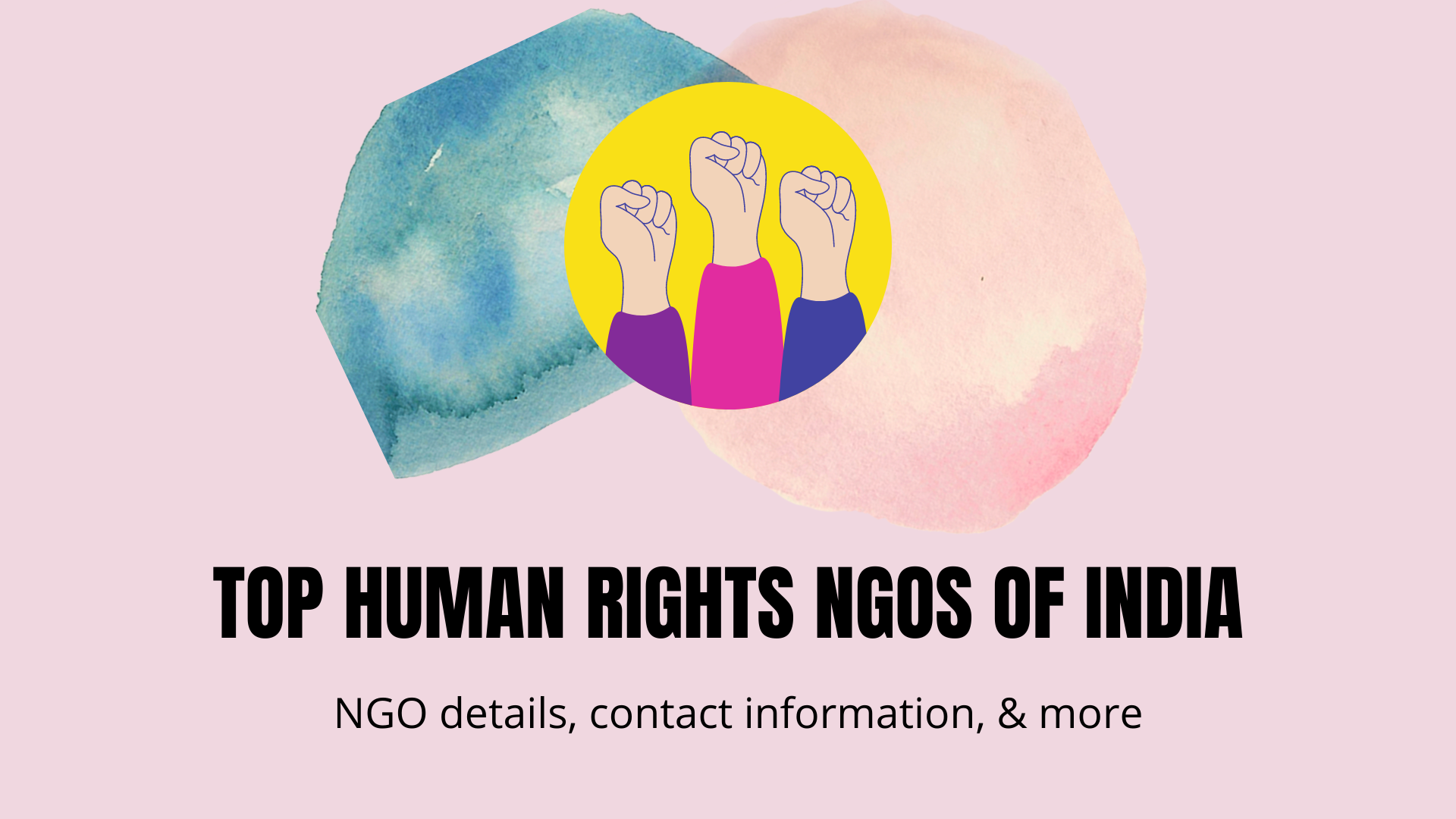 human rights NGOs in India